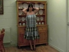 big beautiful women old shows in kitchen