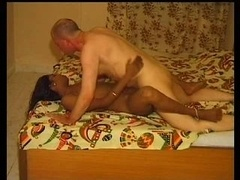 Indian Housewife and plus her White Husband plus