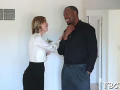 interracial sex with a black stud film