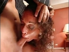 2 hard double penetration for a Sexually available mom