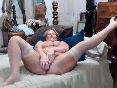 Masturbation in front of webcam