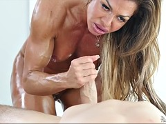 profusely lubed cougar nina dolci is thirsty for passionate sex