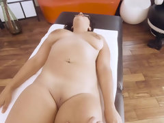 Nerdy chick Emori Pleezer turns into lusty slut