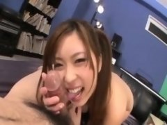 Japanese pov sex along beautiful ami kurosawa