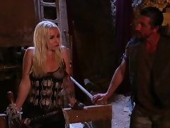 Apocalyptic porn couple having hot fucking