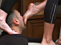 trample and foot worship