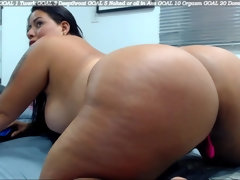 Colombian Full-Breasted Girl Eilexandrax Roussex (31) Show Her Bubble Rump