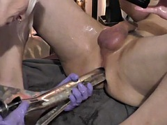 lady jane, massive speculum, double fisting, anal gap