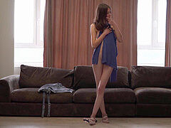 highly lovely bashful teen Ilonka Csont casting